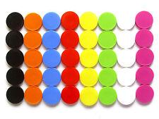 Gettone per carrello della spesa MARCA DI VALORE liscia senza griffrand 8 Farben