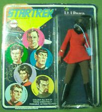 VINTAGE MEGO STAR TREK LT. UHURA 8 ZOLL 1974 MOC SELTENE