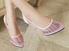 stiletto Scarpe decolte eleganti donna tacco 8 bianco rosa viola azzurro 9321