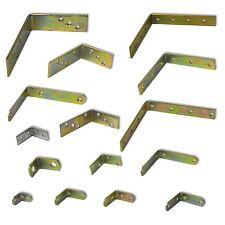 Winkelverbinder Stahlwinkel Holzverbinder Lochwinkel verzinkt gelb chromatiert