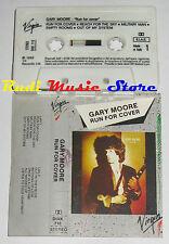 MC GARY MOORE Run for cover 1985 1 STAMPA ITALY VIRGIN DIXK 716 no cd lp dvd vhs