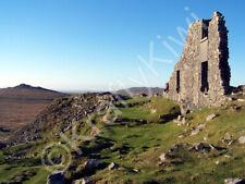 Foggintor Ruins Dartmoor Devon Art Photo Canvas (UK)