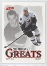2001-02 Upper Deck Victory #409 Brett Hull Dallas Stars Hockey Card