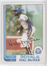 1982 O-Pee-Chee #384 Hal McRae Kansas City Royals Baseball Card
