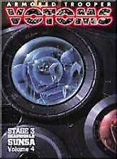 Armored Trooper VOTOMS DVD Stage 3: Deadworld Sunsa Vol. 4 (DVD, 2001)