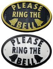 Please Ring The Bell - 3D Plaque - House Door Gate Garden Sign