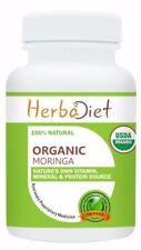 Organic Moringa Oleifera Leaf 500mg Tablets Pills Energy Booster Anti Aging Herb