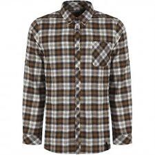 Craghoppers Men's Bedale Check Long Sleeved Shirt -Black Pepper