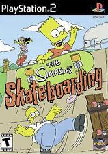 The Simpsons-Skateboarding (Sony PlayStation 2, 2002) - version européenne