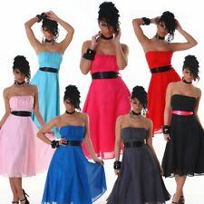 Bandeaukleid Cocktailkleid elegant Fest Kleid Damen Mode Trend Neu Größe Bandeau