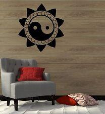 Wall Decal Mantra Yoga Mandala Zen Buddhism Vinyl Stickers (ig2767)
