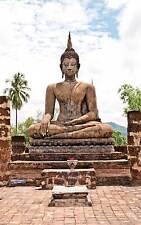Affiche poster bouddha réf 19 ( 3 dimensions, papier mat ou papier photo)