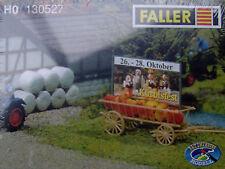 FALLER 130527 HO carro di fieno con Lavagna pubblicitaria#