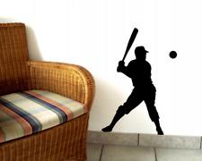 Wandtattoo Baseballspieler Wandsticker 25 Farben 6 Größen Wandaufkleber Sticker