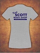 Keith Scott One Tree Hill Body Shop T-shirt Donna Grey