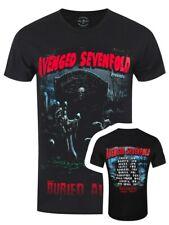 Avenged Sevenfold enterrado vivo Tour 2012 Negro para Hombre A7X T-Shirt