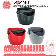 New AVANTI Coffee Knock Box Bin Espresso Grinds Tamper Waste Tamp Tube Grind PI