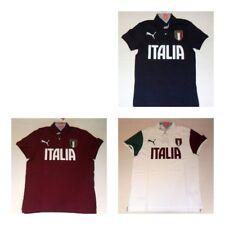 3512 PUMA ITALIA T-SHIRT GRAPHIC POLO MAGLIA MAGLIETTA COTONE WCUP '14  745208