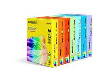 Mondi Maestro Color Papier Farbiges Druckerpapier 80 120 160g/m² DIN-A4 / A3