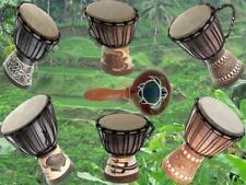60 Modelle 30cm Kinder Djembe Drum Trommel Bongo Drum Buschtrommel  + Anleitung