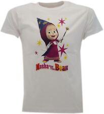 T-Shirt Maglietta Masha e Orso FATINA Originale Masha and the Bear 3 colori FATA