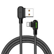 MCDODO Câble de charge à angle droit de 90 ° pour Apple iPhone, iPod, iPad