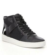MICHAEL KORS - Matty -Women's High-Top Fashion Sneakers - Black