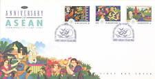 S'pore FDC 25th ann of ASEAN 8.8.1992