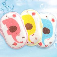 1Pc cute cartoon baby bath brush soft bath sponge baby shower accessories Xr