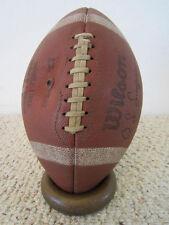 """VINTAGE FOOTBALL """"O.J.SIMPSON"""" EMBOSSED LEATHER WILSON SIGNATURE MODEL FOOTBALL"""