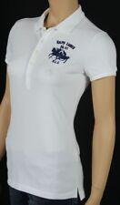 Ralph Lauren White Big Pony Match Polo Shirt NWT