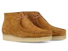 Clarks Originals Wallabee Boot Men's Bronze Suede Moc Toe Two-Eye 261 18562