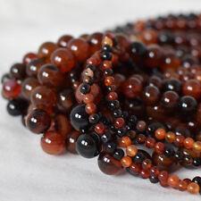 Natural Madagascar Agate Semi-precious Gemstone Round Beads - 4mm 6mm 8mm 10mm