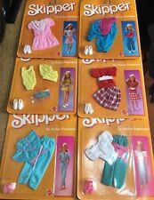 Barbie Skipper Mattel Vestiti  Outfit Vintage 80'