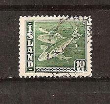 Iceland # 221 Used Herring Fish Ocean