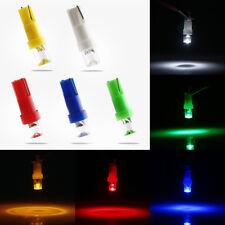 100Pcs T5 LED Car Auto Gauge 1SMD Indicator Speedo Dashboard Side Light Bulbs