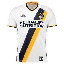 adidas Men's LA Galaxy MLS Authentic Home Soccer Jersey T-Shirt