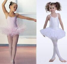 Neu Kinder Ballett Ballet Tutu Tütü rock Mädchen Ballettanzug Ballettkleid 4-8Y