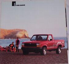 1991 91 Ford Ranger original sales brochure MINT