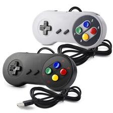 1/2/4 SNES Super Nintendo USB Controller Gamepad Joystick for Window PC MAC Sega