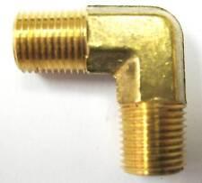 1pc Brass Pipe Male 90 Deg Elbow Fitting 1/8 NPT Fuel MettleAir 99-A