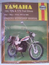 Yamaha Haynes Manual DT100 DT125 DT175 DT 100 125 175 MX Reparación Servicio LT2 LT3