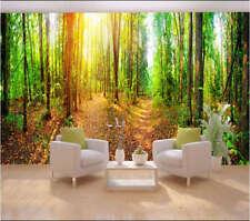 Bright Warm Sunshine 3D Full Wall Mural Photo Wallpaper Printing Home Kids Decor