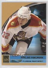 2001-02 Topps Reserve #101 Niklas Hagman Florida Panthers Rookie Hockey Card