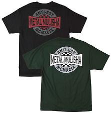 Metal Mulisha Global mens 100% cotton t shirt tee Black Green FMX MotoX Clothing