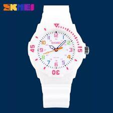 Children's Sports Quartz Analog Plastic Polyurethane Band Waterproof Wrist Watch