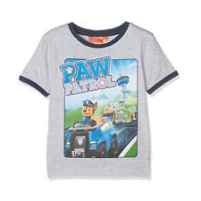 PAT PATROUILLE t-shirt 3 4 5 ou 6 ans gris manches courtes NEUF