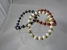 RUSTIC CUFF Annie Patriotic Beaded Bracelet - Pick Your Color