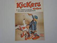 advertising Pubblicità 1975 SCARPE KICKERS