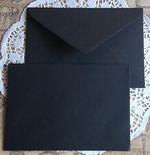 80 x C5 Size Envelopes 162x229mm BLACK  or choose a colour